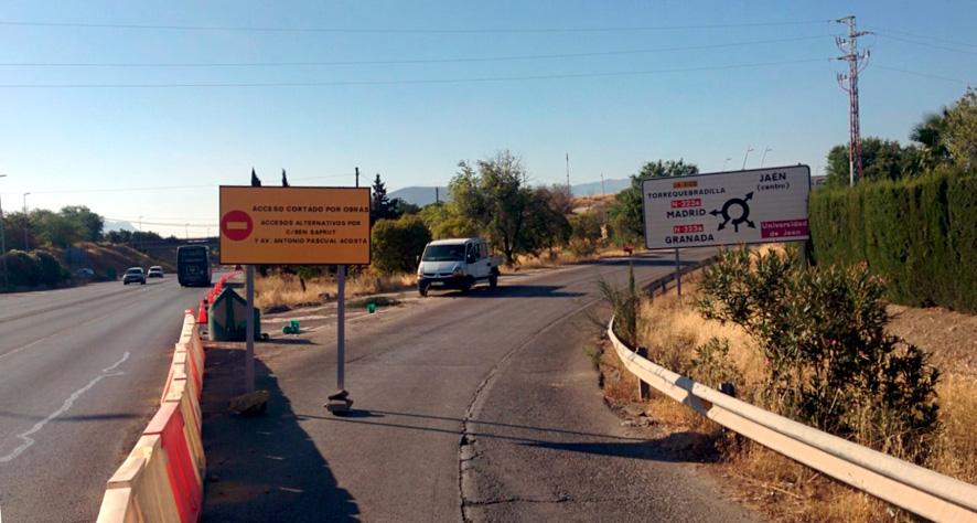 Comienzan las obras de urbanización de Jaén Plaza
