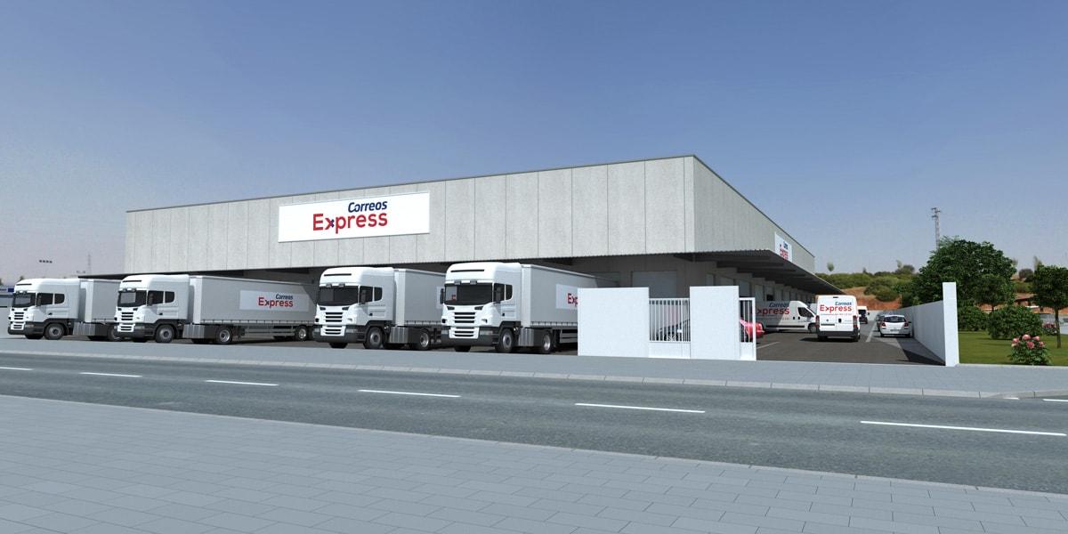 Finalizan las obras de la nave logística destinada a Correos Express